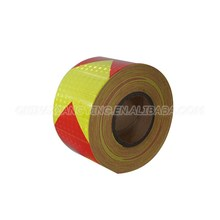 Alibaba China Supplier Long distance of visibility PVC magnetic reflective tape
