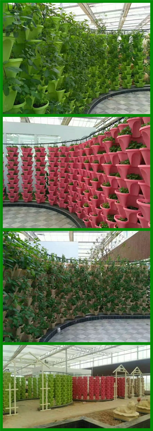 Factory hot sales Dutch Bucket for Greenhouse hydroponic planting system