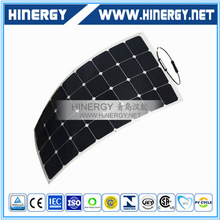 18v 100watt Flexible Sun Cell Etfe Solar Panel With Outlet For Rv Boat