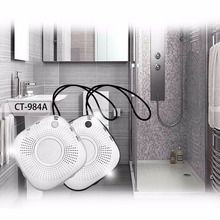 2017 promotion wireless portable mini outdoor shower waterproof fm radio