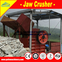 building material crusher/construction crushing machinery/stone jaw crusher