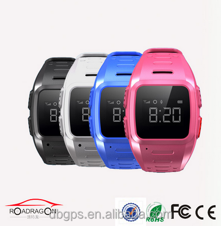 Kids smart watch gps gsm tracker TK-5W with waterproof and Android IOS APP