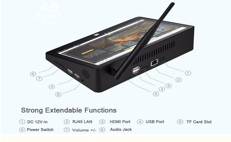PIPO X10 PRO Intel tablet PC 10.8 Inch Touch Screen 1920*1080P Z8350 4G 64G For Window 10 TV Box PIPO