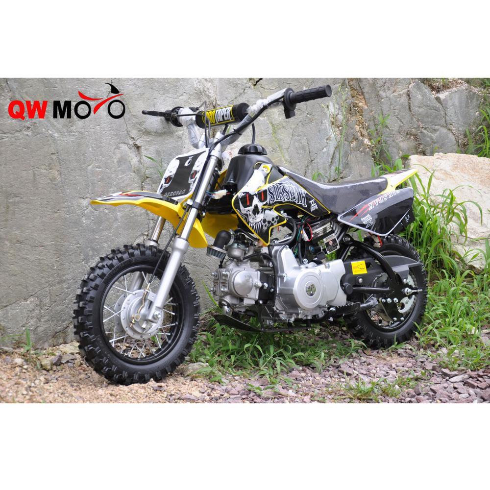 QWMOTO CE 110CC 4 stroke Kids Off Road Dirt Bike Motorbikes