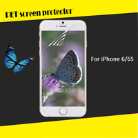 High Transparent clear PET screen protector for iPhone 6 6s 6plus screen protector