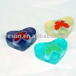 40g Glycerin Bath Soap with Butterfly decoration