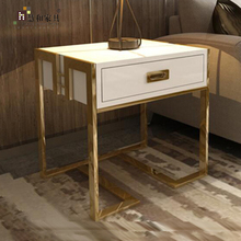 Custom Wholesale Classic Luxury Bedside Wood Table,Bedside Tables Of New Style