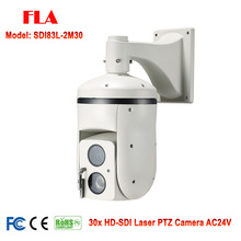 Long range 500M Laser IR HD-SDI PTZ Camera High Speed Dome 30X Zoom Alloy Waterproof Outdoor
