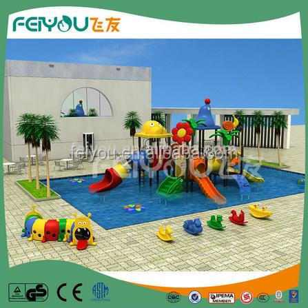 2017 new Classical coloful and safe Kids Games Outdoor animal land Equipment water slide