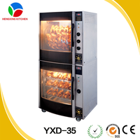 Industrial large chicken rotisserie grill,electric rotary chicken grill machine for sale(upper part)