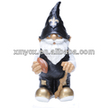 Resin New Orleans Saints Football Gnome Figurine