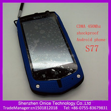 S77 3.5 inch mobile phones in india 0.3Mp cdma 450Mhz android phone China Suppliers mobile phone cdma gsm