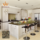 new design copy-granite natural color quartz countertops table tops