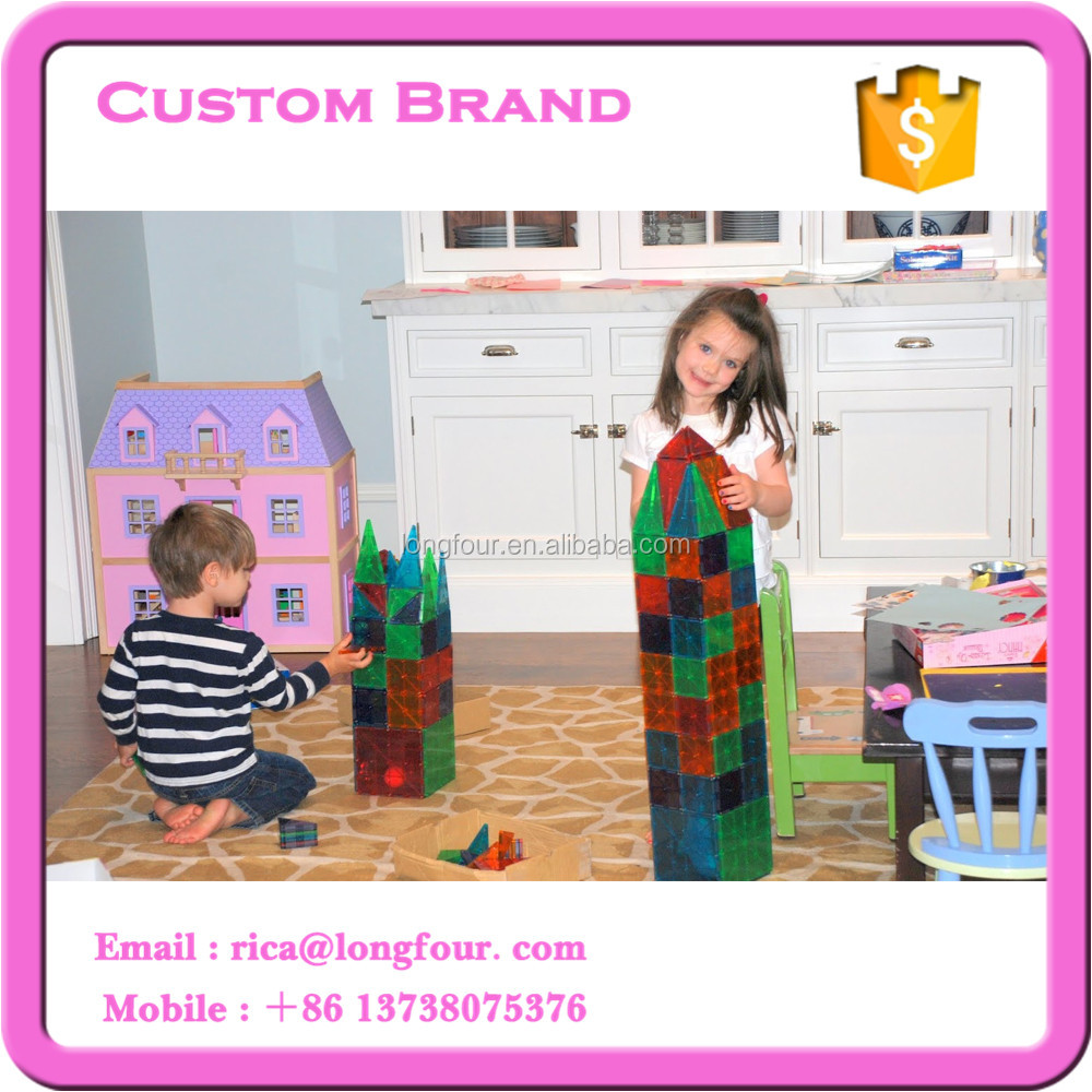 32pcs Magna-tiles plastic geometric shape toy