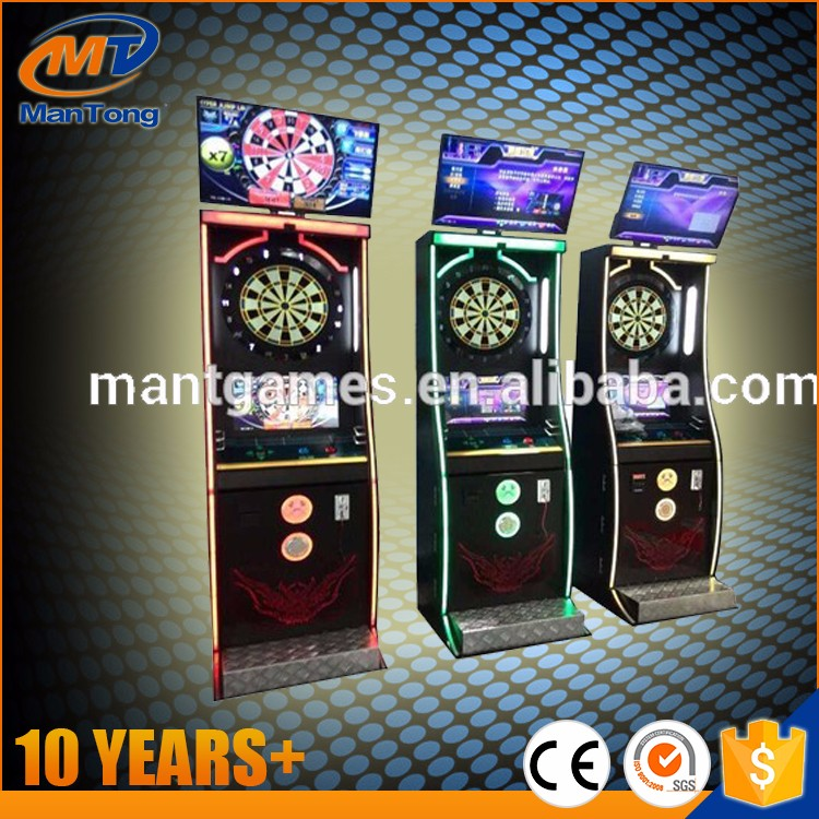 Newest design !coin operated dart boards phoenix dart machine for sale