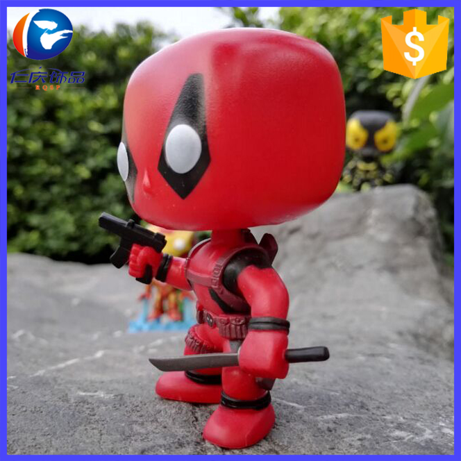 Marvel Mini Deadpool Toys/Deadpool Funko POP/Pvc Mini Deadpool Action Figure