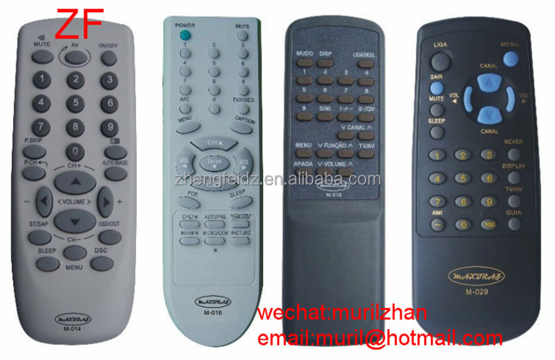 High Quality M-014 M-015 M-018 M-029 REMOTE CONTROL Cheaper Price AAA Battery ZF Universal LCD Remote FACTORY