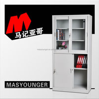 silding door cold rolled steel art office library cupboard furniture