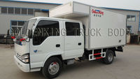 ISUZU double cabin insulated truck bodies