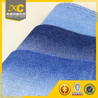 Professional white stretch denim fabric with low price