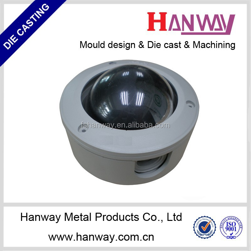 china manufacturer OEM aluminum die casting cctv camera kit