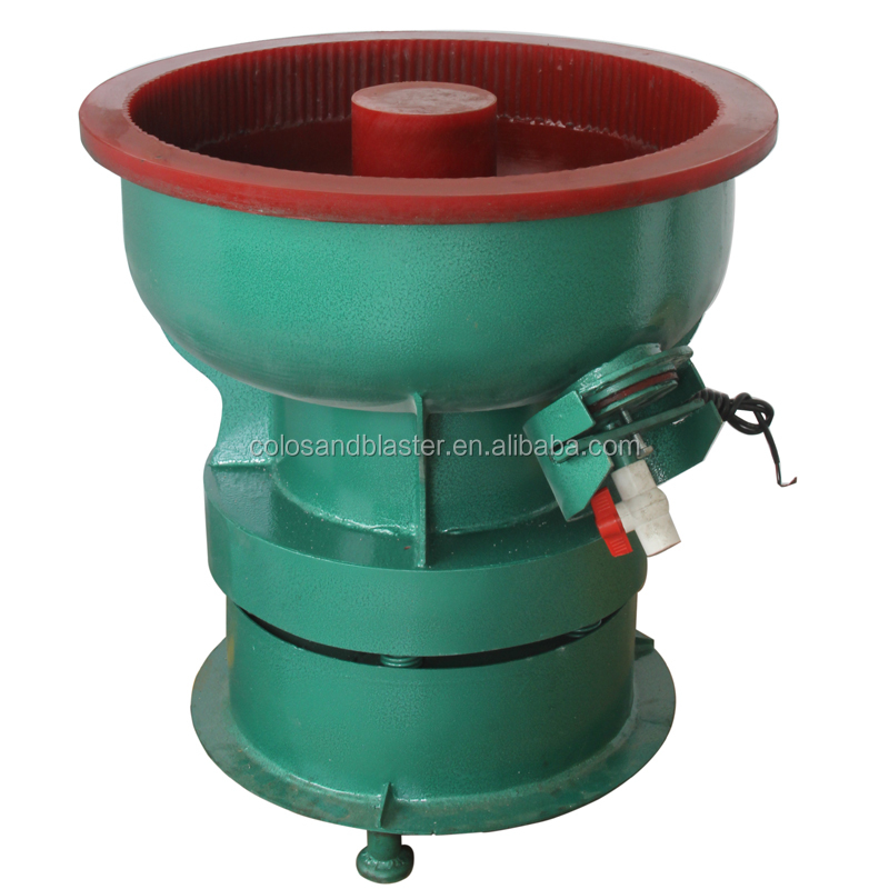 2 cubic foot Industrial metal vibratory deburring polishing tumbler machine