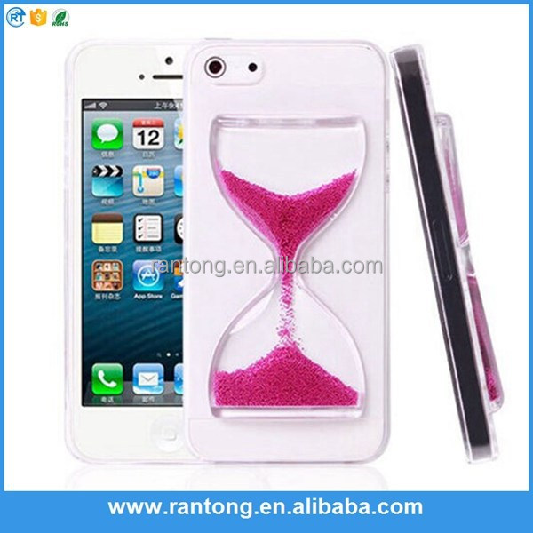 Factory Popular strong packing 3d liquid phone case for iphone 6 case from China workshop