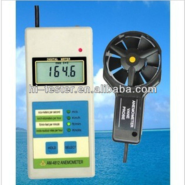 PT4812 Digital Anemometer,Wind speed measuring instrument