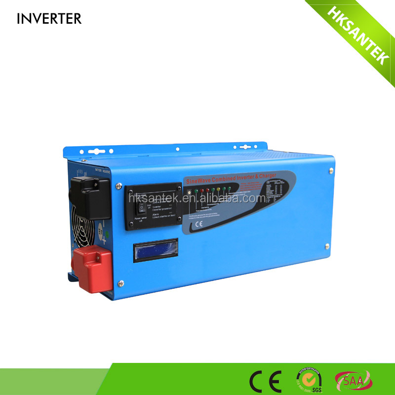 High Efficiency Low Frequency Pure Sine Wave 220V Solar Power Inverter 4000W With Battery Charger,LED/LCD Display