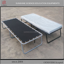 Military camping folding bed strong steel camping bed frame