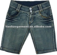 2012 new summer denim jeans for ladies