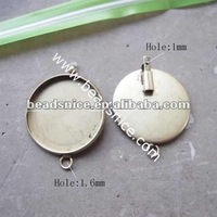 Beadsnice ID 19102 cameo cabochon base setting cheap pendants