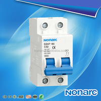 2015 New Nonarc Electric dz47-63 30 Amp Circuit Breaker