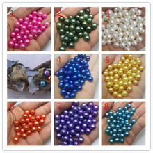 AAA Grade pearl Vacuum packed 6-7mm Loose Round pearl with Akoya Pearl Oyster