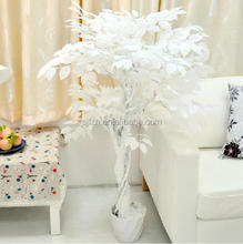 Large artificial white birch tree for decoration