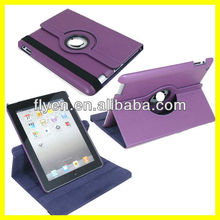 Tablet Accessories for 9.7 inch Leather 360 Rotating for iPad2 Case Magnetic Smart Cover 2013 New Product