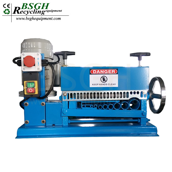 milti-function promotion scrap copper cable wire stripping machine stripping usage cable wire stripper BS-015M sale in USA