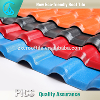 ASA Synthetic resin plastic spanish roof tile / low roofing sheet price architectural asphalt shingles