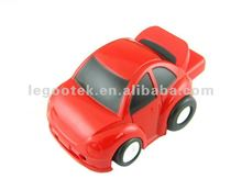 Full capacity gift / Car shape Plastic USB pen drive with LED light / CE Rohs FCC approved
