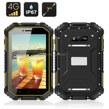 Cheapest 7inch Rugged Tablet ip67 with nfc rfid function android GPS 4G waterproof rugged Tablet pc