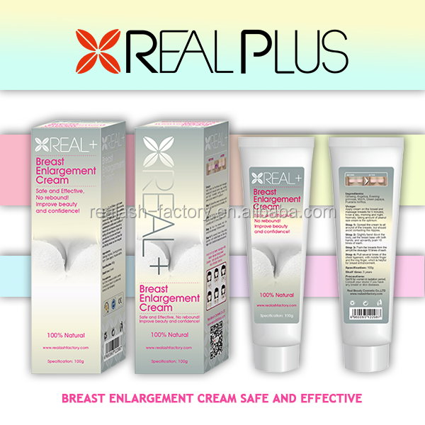 Beauty girl most wanted instant breast enlargement cream REAL PLUS Breast firming cream