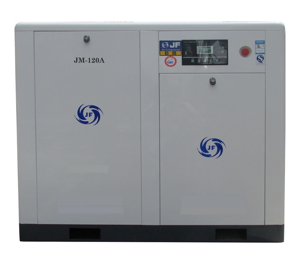 JM-120Screw Air Compressor 90KW 10Bar energy saving
