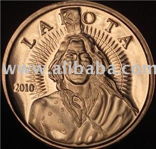 COPPER ROUNDS - 1OZ LAKOTA