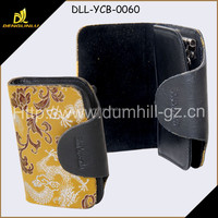 Silk Leather Hot Key Holder With Flower Pattern Manufacturer