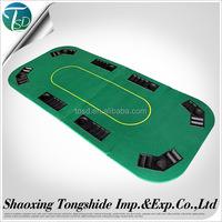 customized folding poker table top