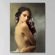 Hot Photo Sexy Nude Women Dancing Oil Painting Canvas Prints Art Wall Decor