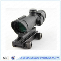 GL4X32A hunting monocular military riflescope with laser pointer