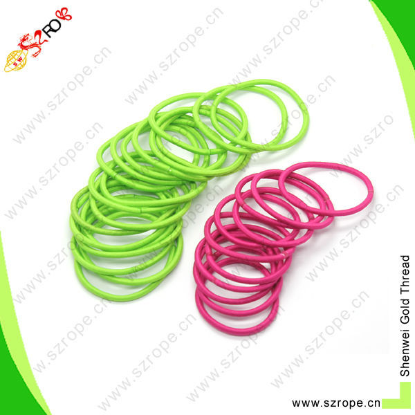 Fashion Rainbow Color Ponytail Holder knitting Hair Band Rope