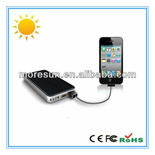 Portable solar charger for electronics with USB Cable, Convenient for Outdoor Exercises and Adventures