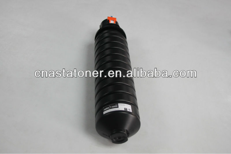 High capacity compatible copier toner for Toshiba T-6000